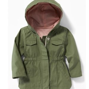 NWOT Old Navy Canvas Utility Jacket for Baby